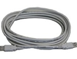AEA Technology 0070-1207 USB Cable for VIA Echo MRI to PC, 15' (4.6m) A-to-A connectors.