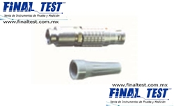Tegam 17505 Male LEMO Connector & Strain Relief para 1740 y 1750