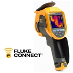 Fluke Ti450 SF6, Detector de fuga de gas. Enfoque MultiSharp, Auto Enfoque LaserSharp, Enfoque Manual Avanzado, Fluke Connect®.